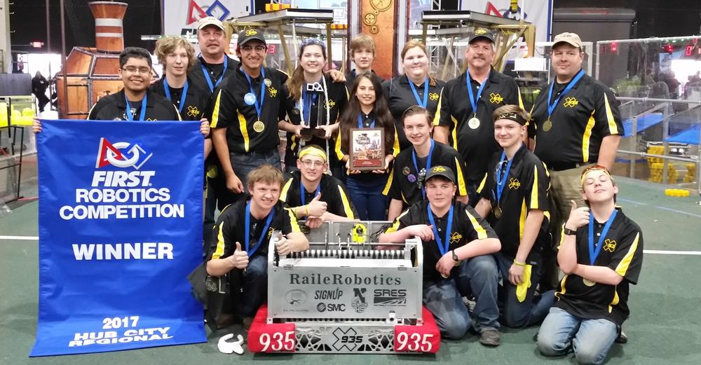 RaileRobotics Team at Regionals