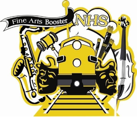 NHS fine arts booster club logo