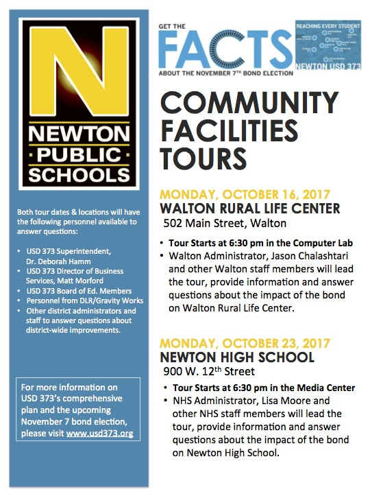 Community Facilities Tours