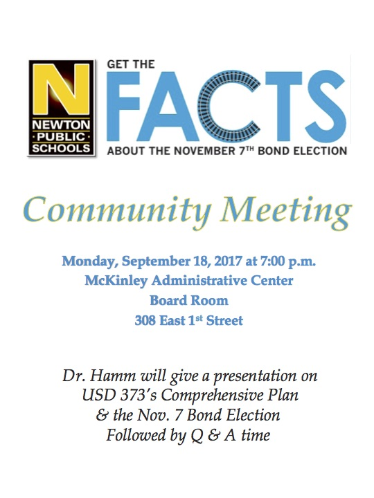 Community Meeting Sept. 18