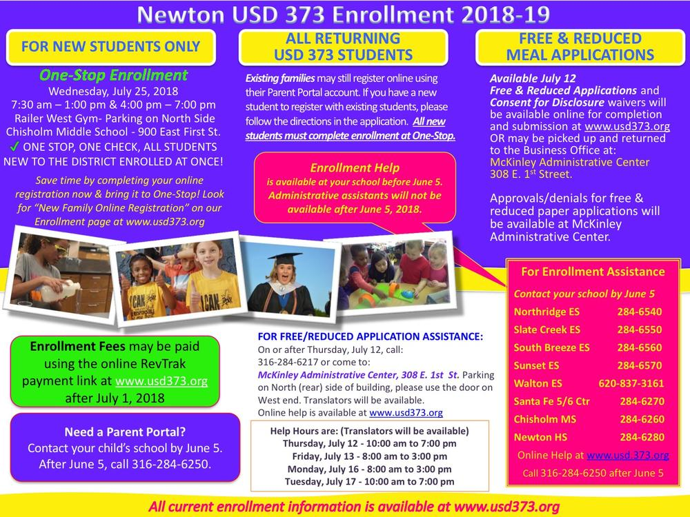 Enroll flyer - English
