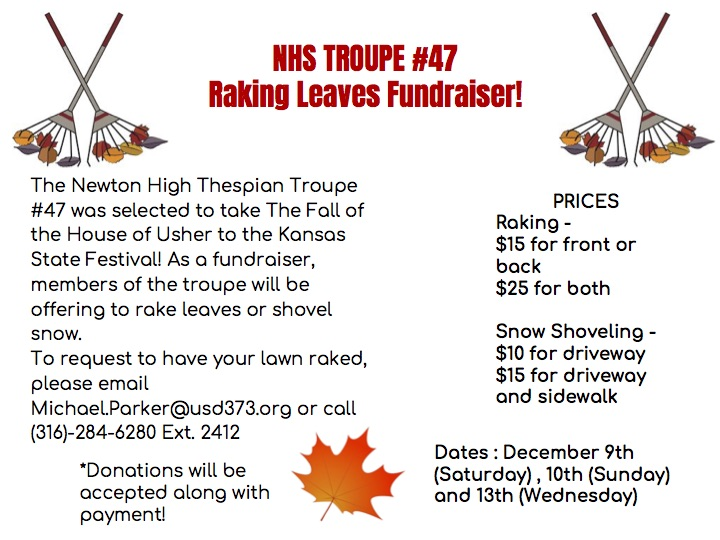 NHS Thespian Fundraiser