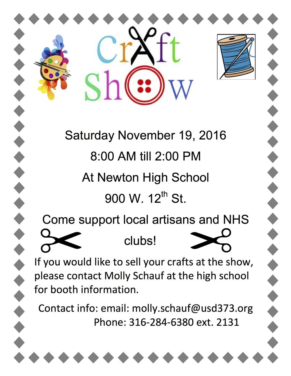NHS craft Fair flyer.jpg