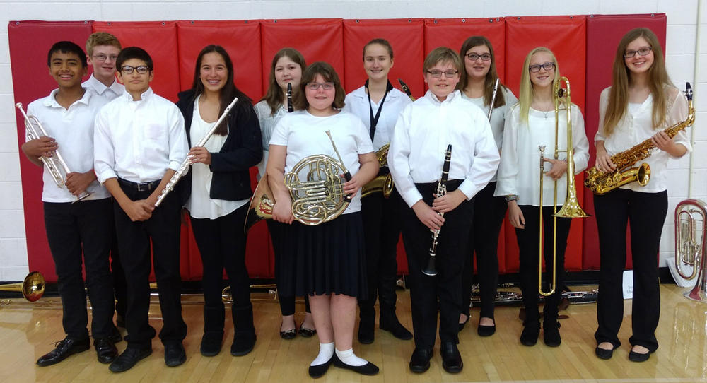 CMS PL Honors Band Students