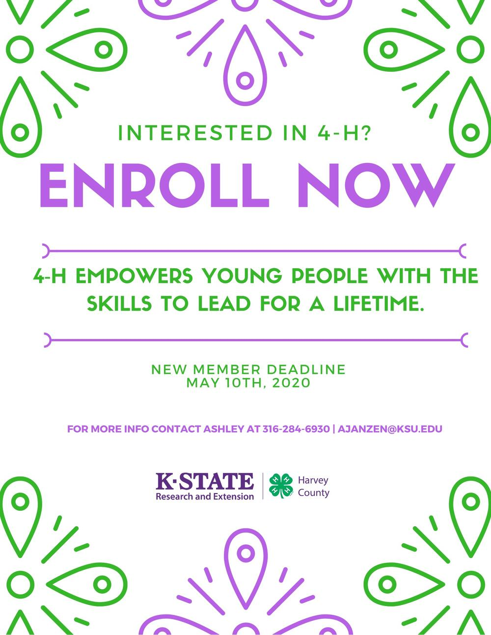 Sign Up for 4-H
