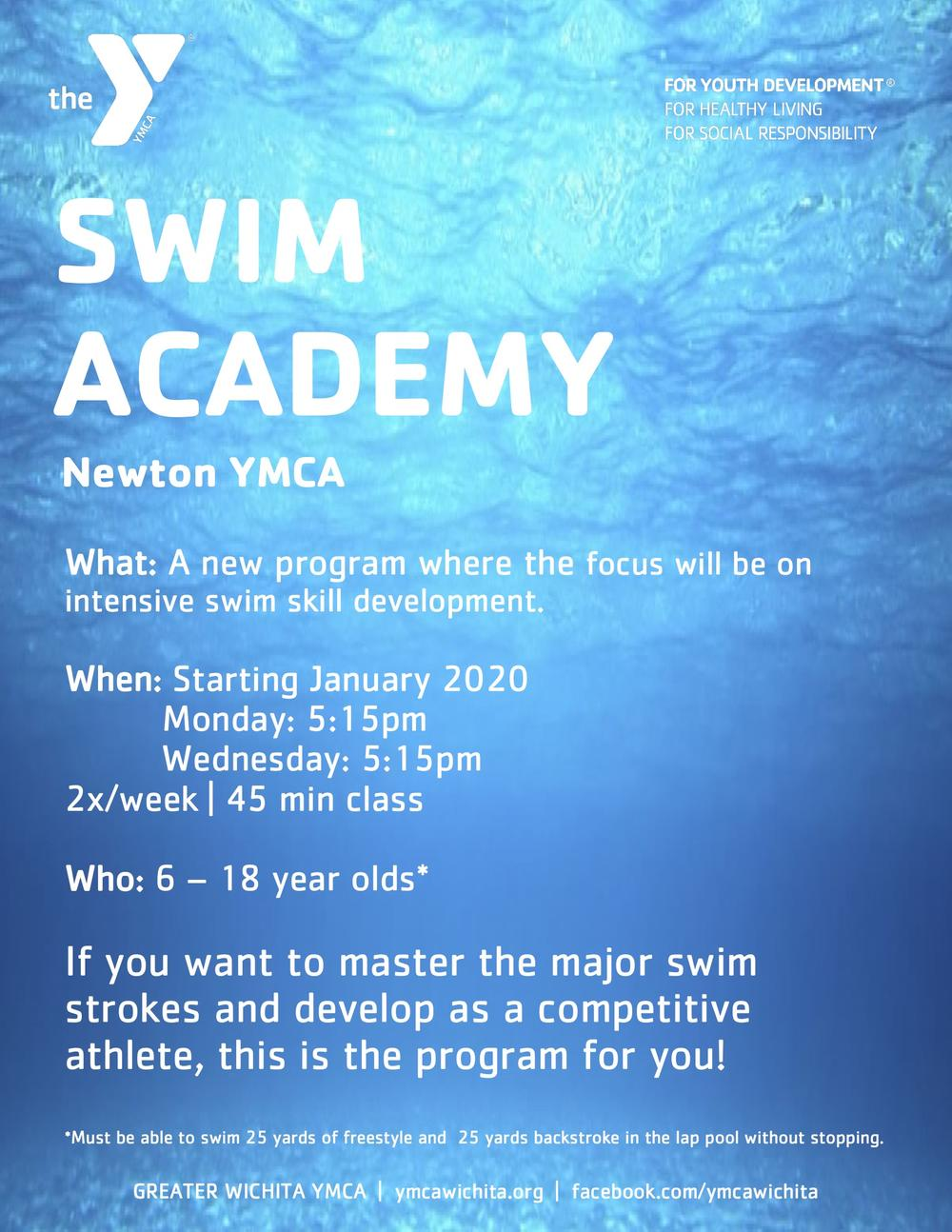 YMCA Swim Academy