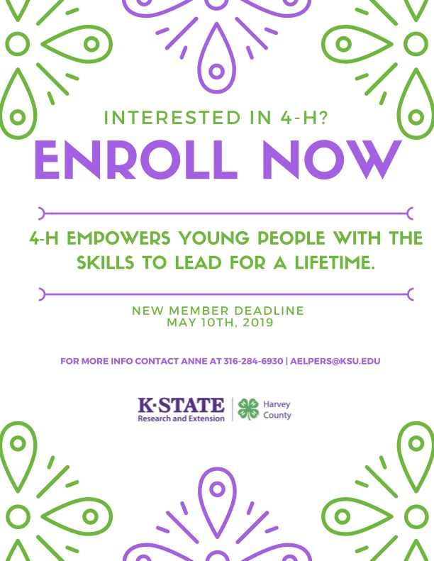 Interested in 4-H?
