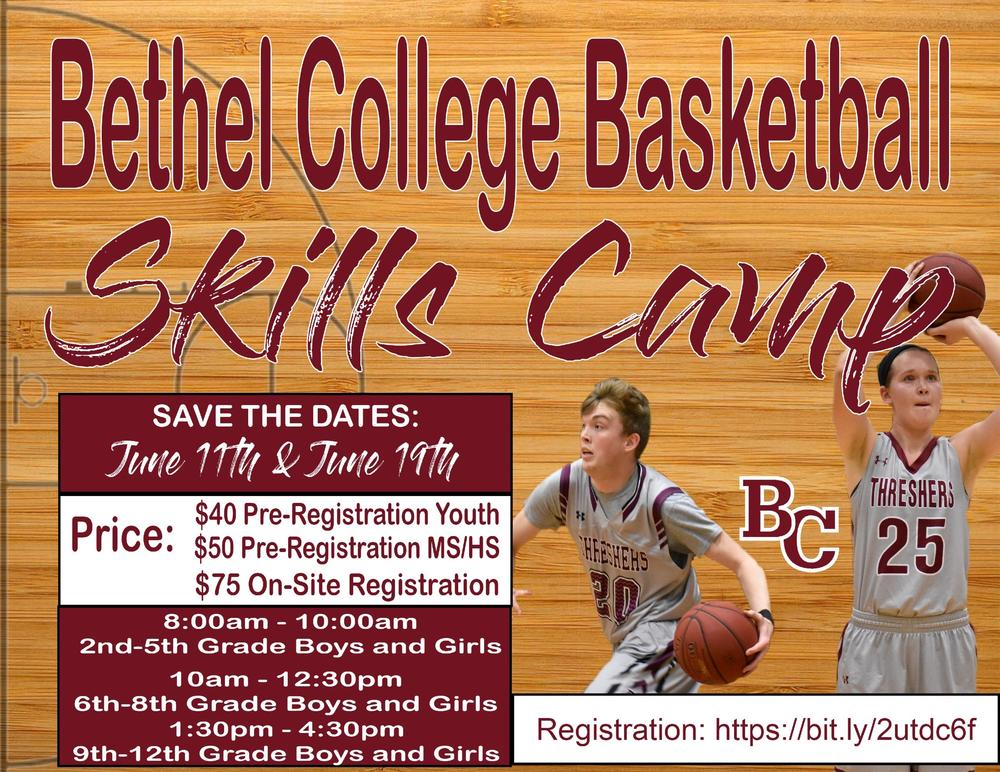 BC Basketball Camp Flyer