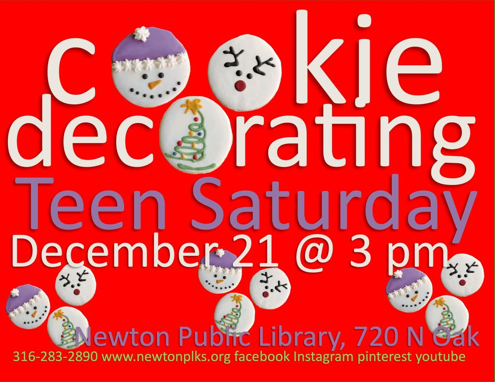 Cookie Decorating at NPL