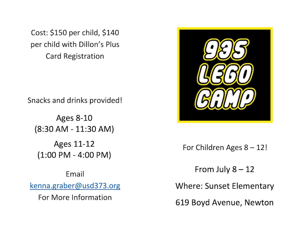 Lego Camp Flyer