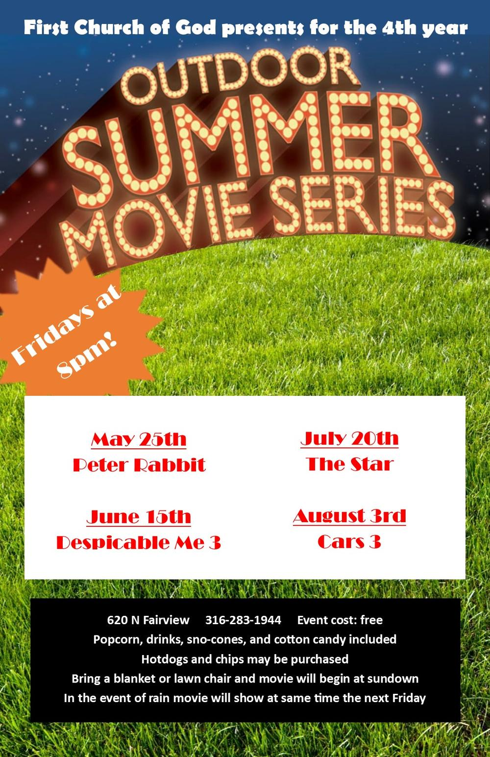 Out door Summer Movies
