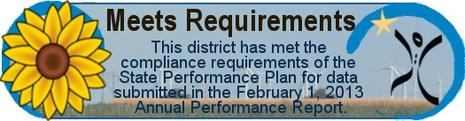 This district meets compliance requirements for data submitted February 1, 2012.